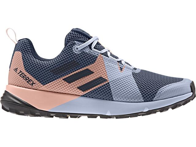 adidas TERREX Two GTX Low-Cut Schuhe Damen tech ink/legend ink/glossy pink